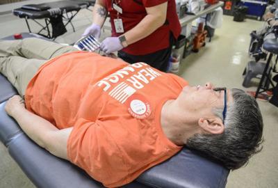 Moms Demand Action kick off Wear Orange weekend with blood drive