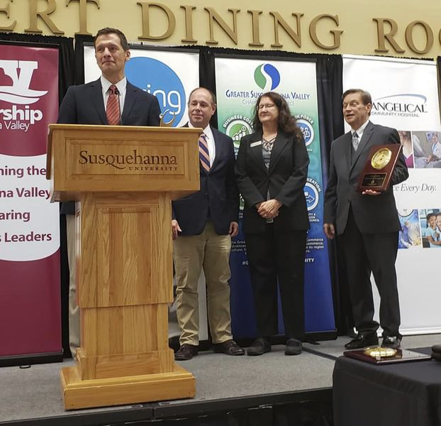 SUN Tech, Bucknell SBDC honored at Chamber Awards