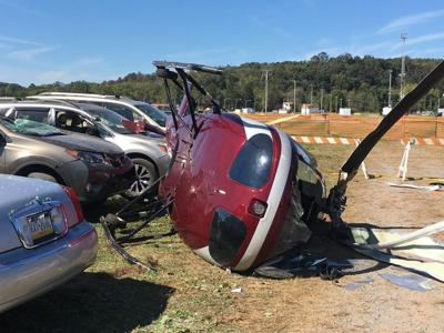 Pilot in critical condition following helicopter crash at Bloomsburg Fair