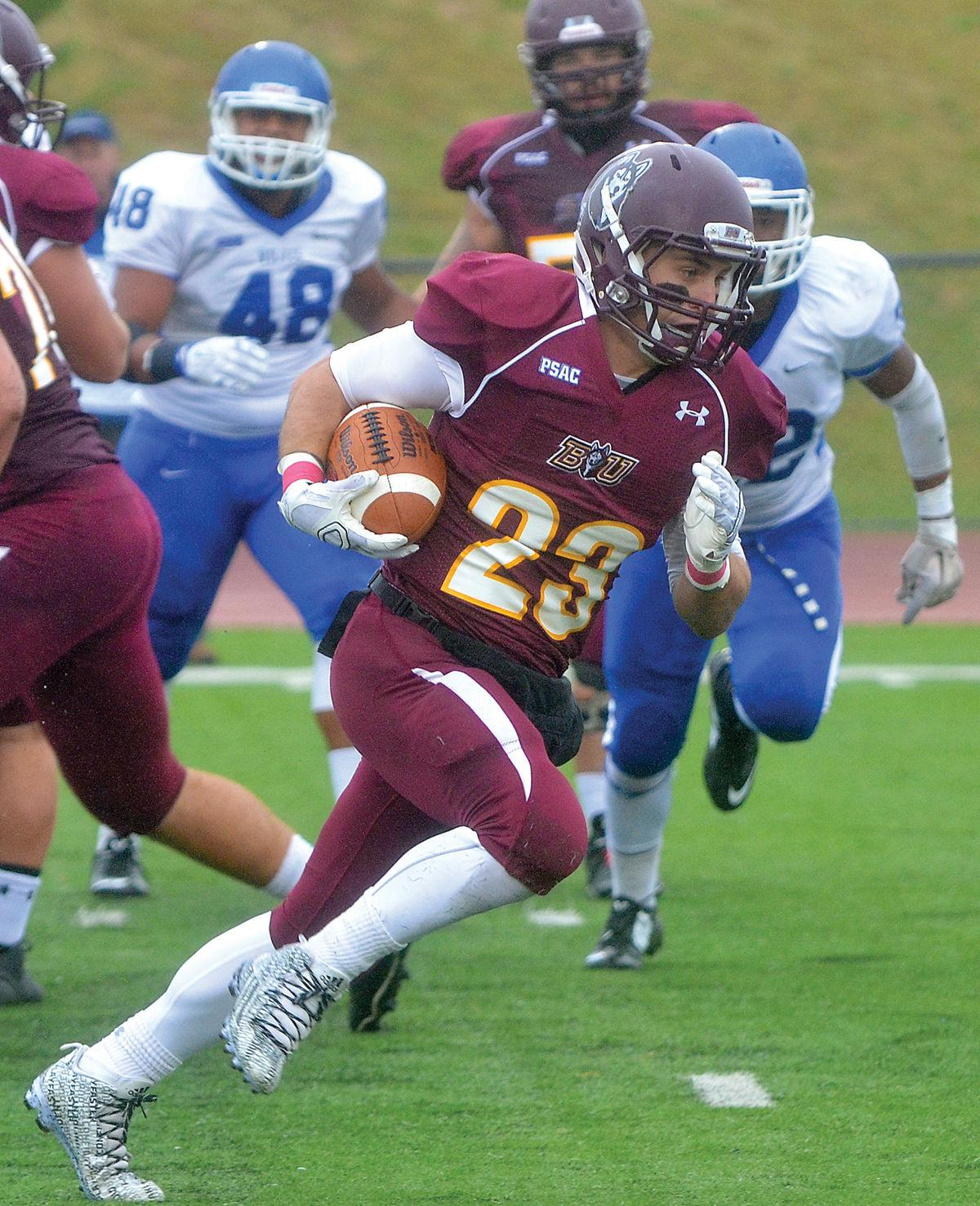 College Football Bloomsburg Romps Past Cheyney 63 0 Sports