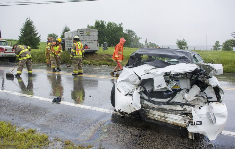 Sunbury firefighter hurt in crash, in fair condition | News