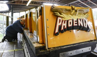 A DAY IN THE LIFE OF KNOEBELS: Phoenix inspection