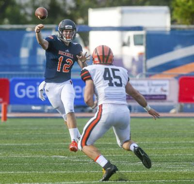 Aerial attack lifts Princeton past Bucknell