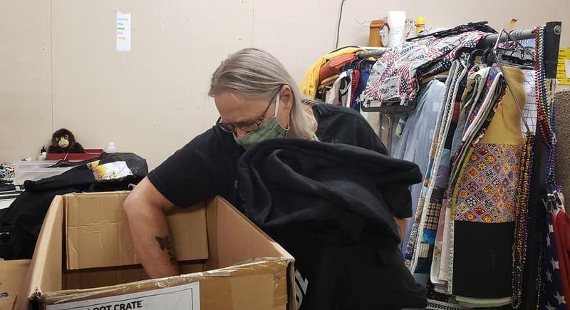 Sunbury Salvation Army employees prepare to open store Monday
