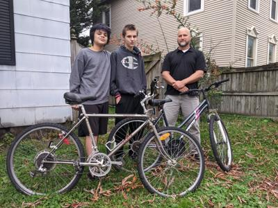 Lewisburg social worker repairs abandoned bikes, donates to students