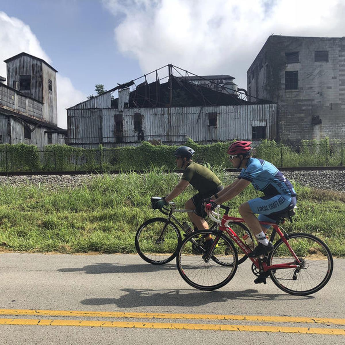 Bourbon and bikes: Discovering Kentucky's distilleries on a cycling