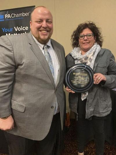 Valley chamber receives statewide award