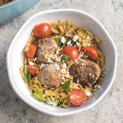 Food Column ATK Lamb Meatballs With Orzo