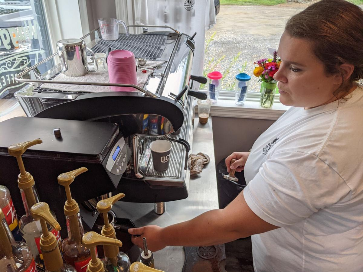 Drive-thru coffee shop, Wagging Tail Coffee, opens in Allenwood