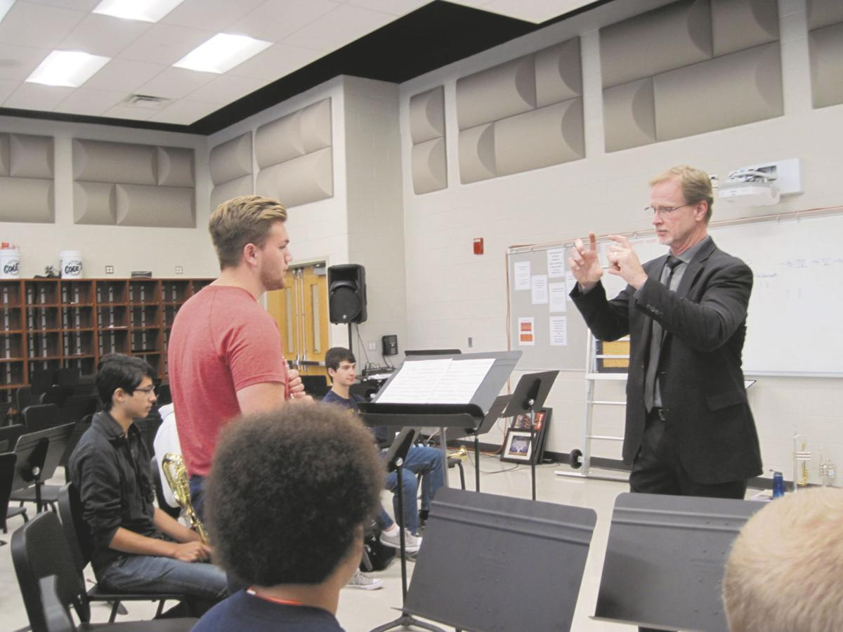 Professional musicians share expertise, love of music with