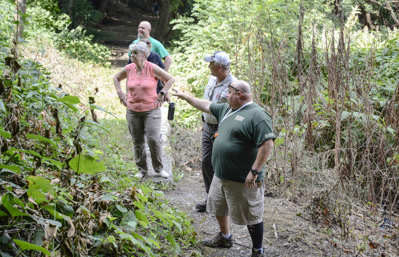New path considered for off-road portal from AOAA into Shamokin