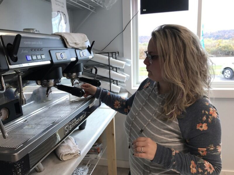 New coffee shop rolls out ice cream