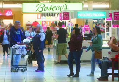 Busy Susquehanna Valley Mall