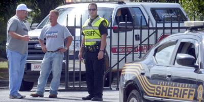First responders gather near site of plane crash