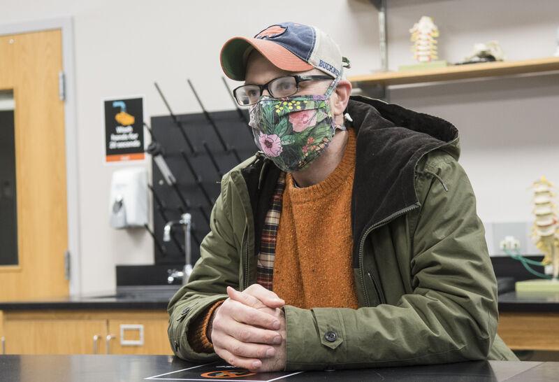 University professor said how he got COVID-19 is 'still a mystery'