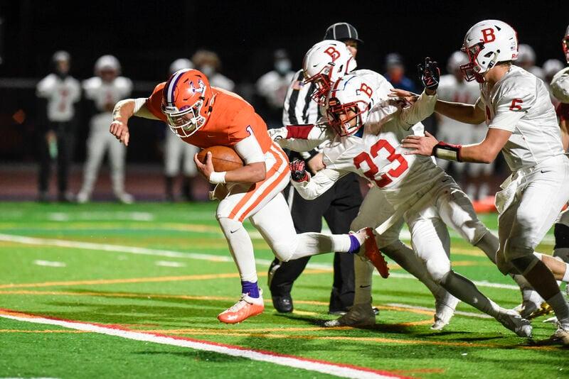 Danville overcomes early mistake, dominates