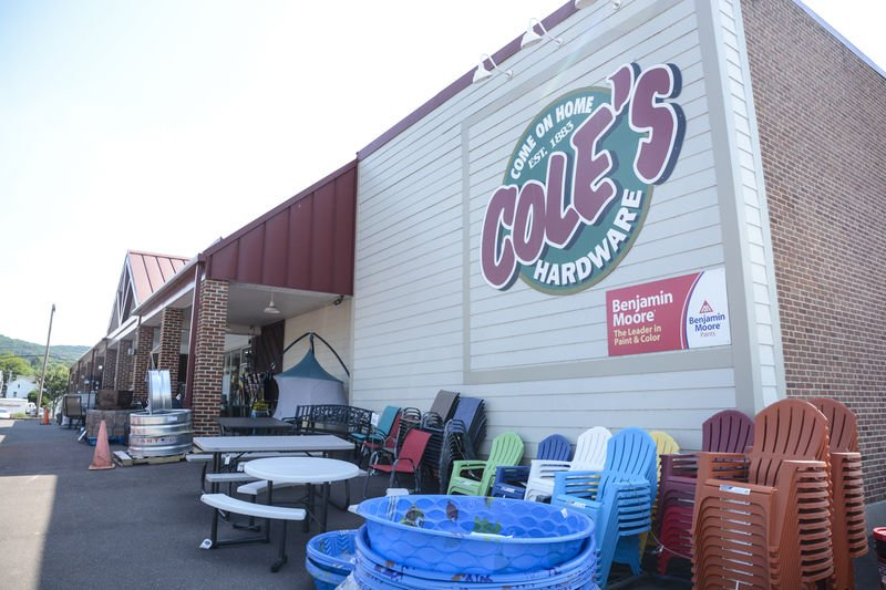 Cole's first sales were made from horse-drawn cart
