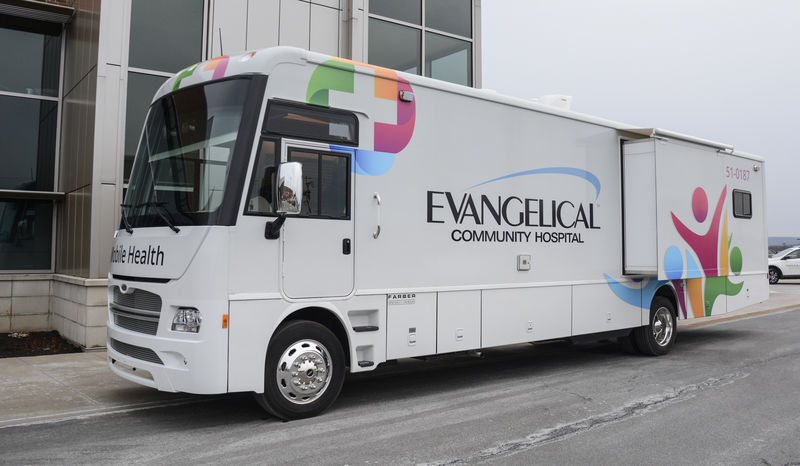 Healthcare on wheels: Evangelical's mobile doctor's office