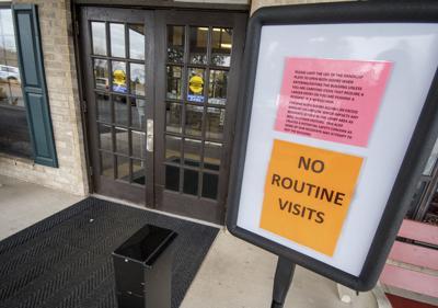 Valley nursing facilities screening visitors