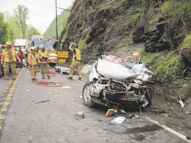 One hurt in 'Narrows' crash | Local News | dailyitem com