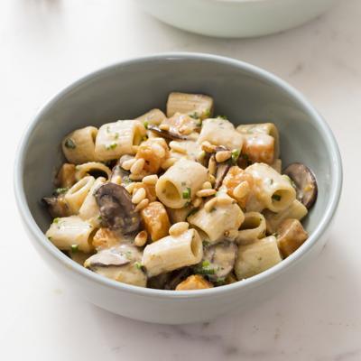 Food Column ATK Creamy Rigatoni With Mushrooms