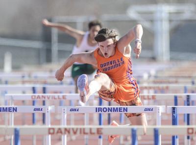 Zimmerman breaks school record from 1968 in long jump