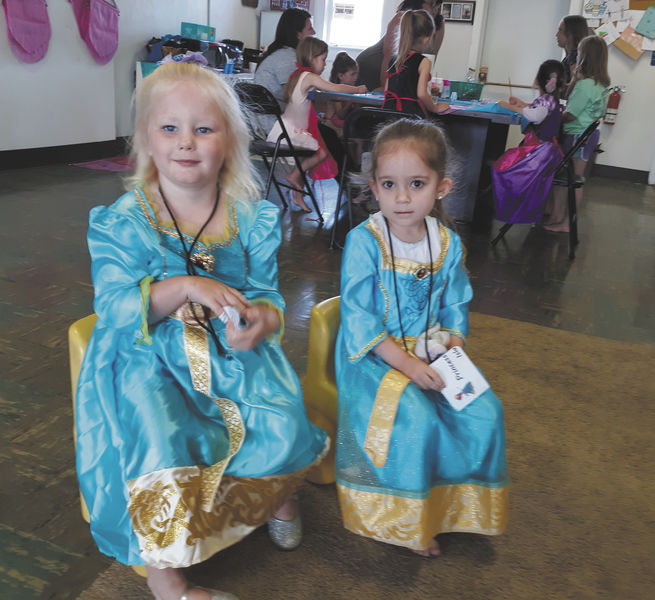 Summer camp brings out campers' inner princesses