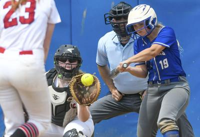 Softball teams hit the road for state playoffs