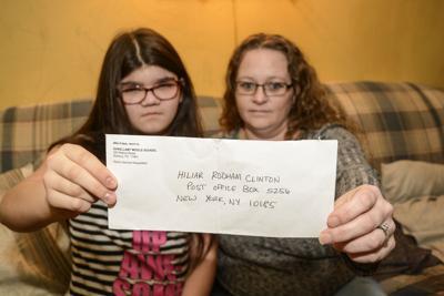 Teacher addresses student letter to 'Hiliar' Clinton