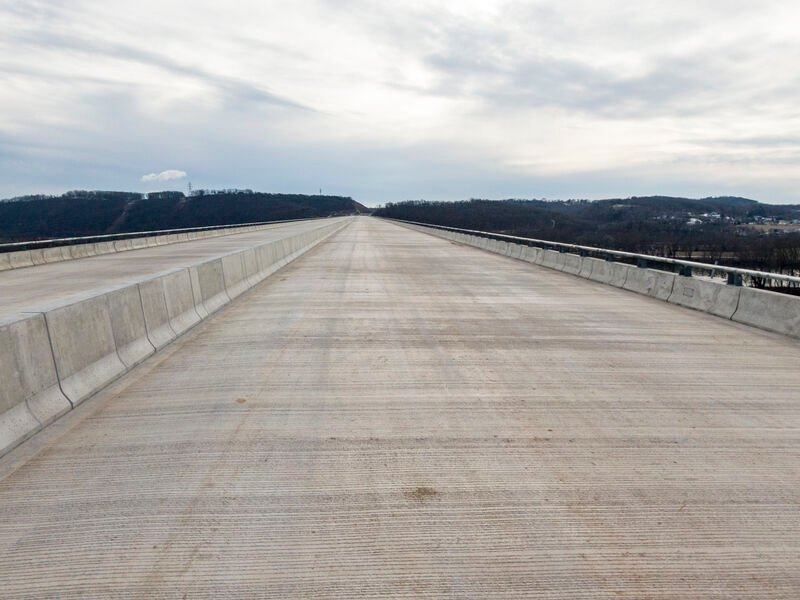 4,500-foot bridge for Central Susquehanna Thruway Project finished