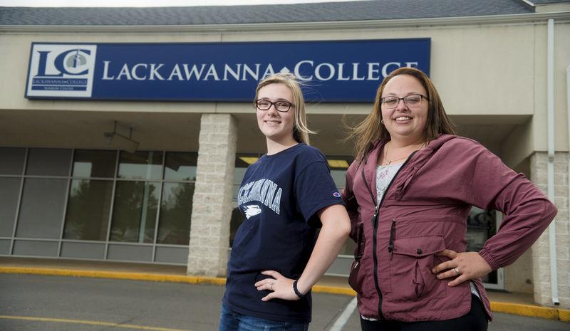 Lackawanna Sunbury allowed inaugural grads to balance families, classes