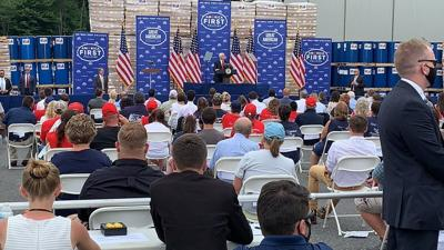 Mike Pence in Somerset