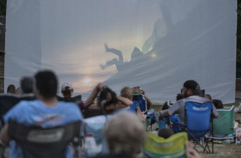 Movies by Moonlight premieres outdoors in Lewisburg
