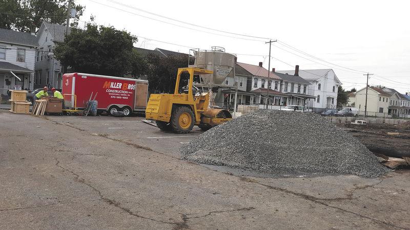 Work begins on new Danville Police Station site