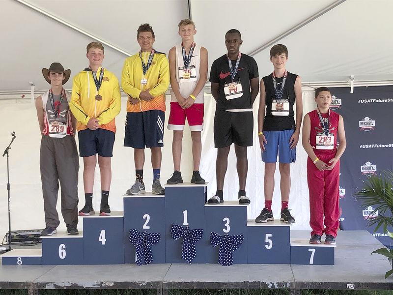 Lewisburg's Farronato wins javelin national title