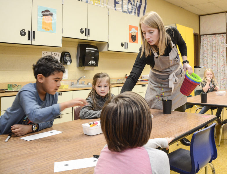 Paralegal, logger, actress ... teacher: Some take winding path to front of the classroom