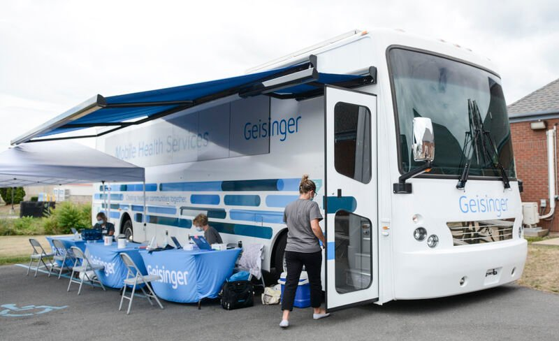 Geisinger bus delivers health care to residents