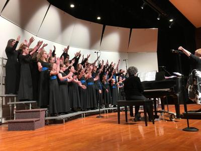 Youth chorale performs 'Broadway' show