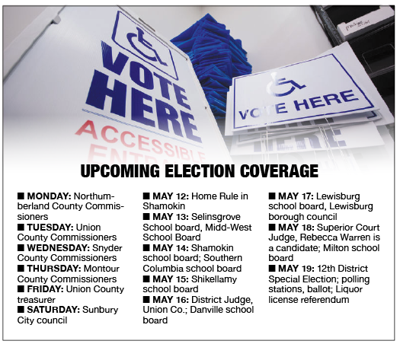 Upcoming election coverage