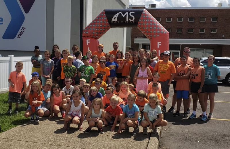 Valley YMCA kicks off last portion of cross country relay
