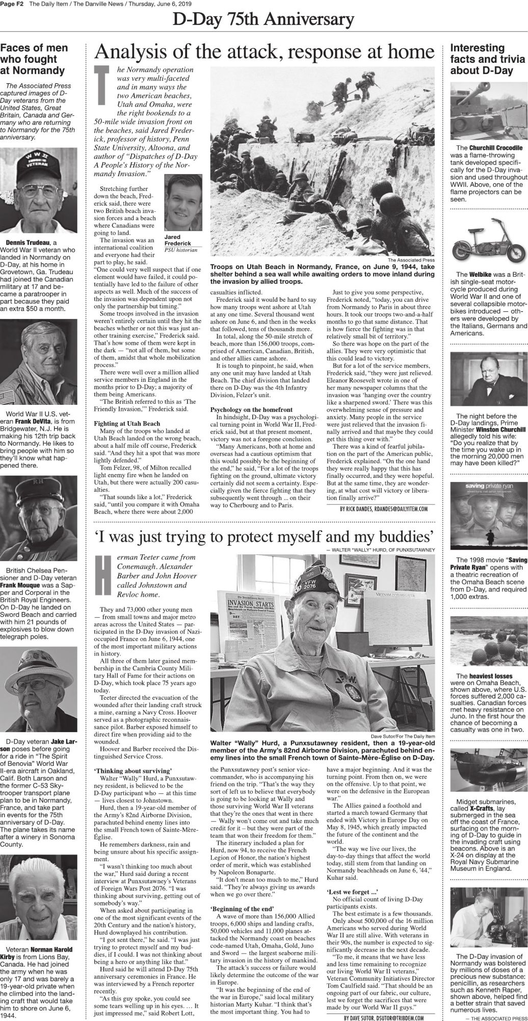 D-Day: 75th Anniversary Page 2 | Dday | dailyitem com