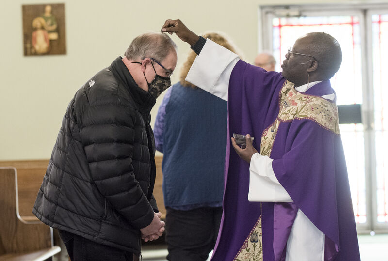 Valley churches innovate, turn back time for Ash Wednesday tradition