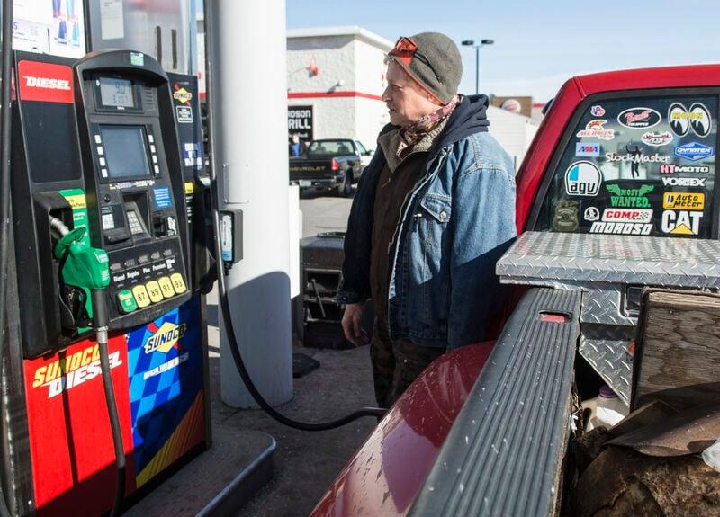 Gas prices increasing, despite low demand