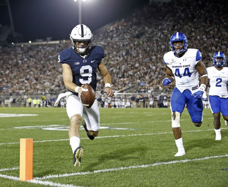 Penn State notebook: McSorley apologizes for impromptu kick