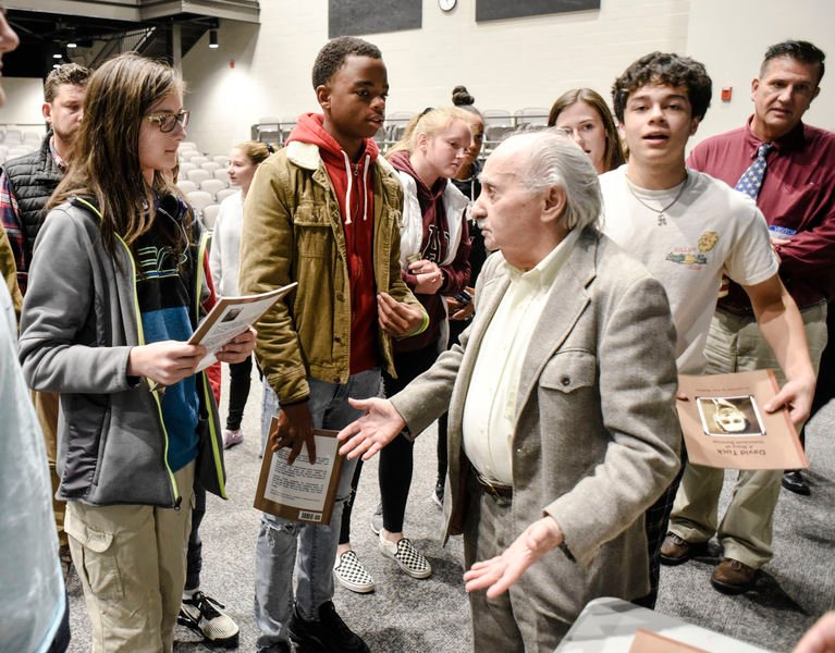 Holocaust survivor shares story with Danville students