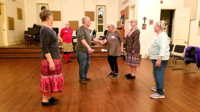 Learn English country dancing at St. Paul's in Bloomsburg