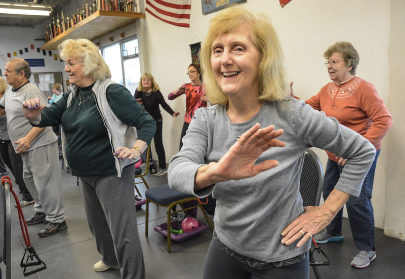 Senior citizens are staying active, living longer