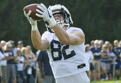 Nittany Lions flex muscle in first week of camp