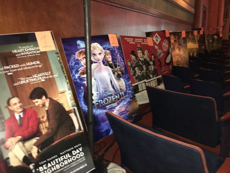 Campus Theatre rolls out red carpet for Oscar fans