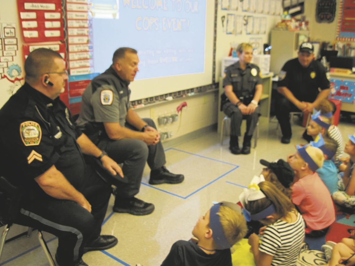 Police visit, teach grammar to primary students | Local News